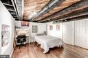 Lower level bedroom w/walk-in closet! - 301 E MARSHALL ST, MIDDLEBURG