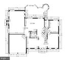 Main Level Dimensions - 5104 DOYLE LN, CENTREVILLE
