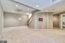 Lower Level Recreation Room - 5104 DOYLE LN, CENTREVILLE