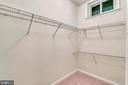 Walk-In Closet. inside 5th Bedroom - 5104 DOYLE LN, CENTREVILLE