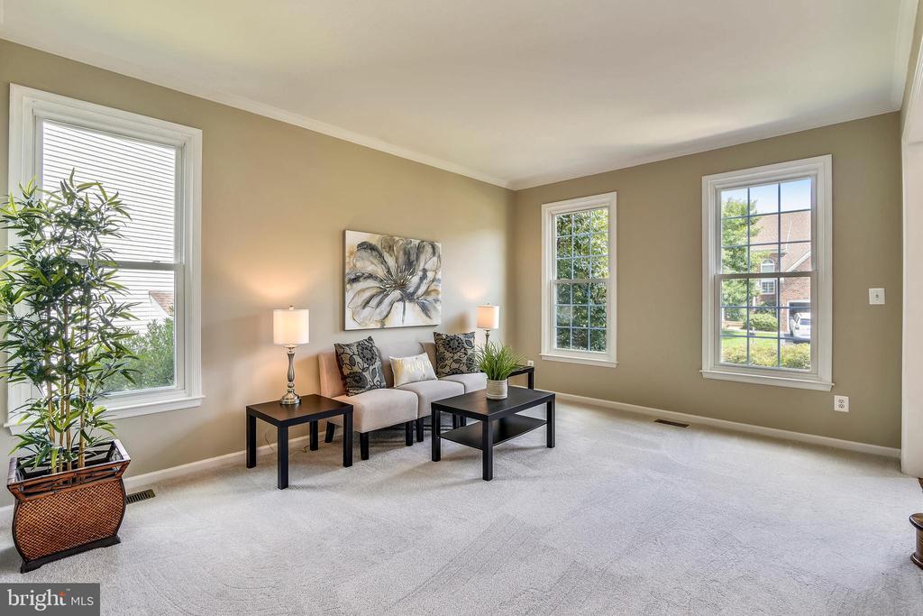 Living Room - 5104 DOYLE LN, CENTREVILLE
