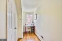 Sitting area, great for a desk or reading nook - 3021 S BUCHANAN ST, ARLINGTON