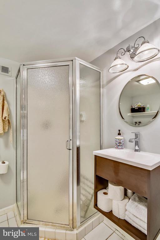 Renovated LL full bathroom - 3021 S BUCHANAN ST, ARLINGTON