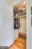Master bedroom closet - 3021 S BUCHANAN ST, ARLINGTON