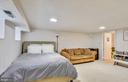Lower level recreation room - 3021 S BUCHANAN ST, ARLINGTON