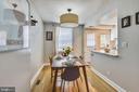 Separate dining room - 3021 S BUCHANAN ST, ARLINGTON