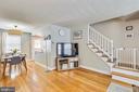 Open concept main living level - 3021 S BUCHANAN ST, ARLINGTON