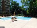 Outdoor Pool - 4808 MOORLAND LN #503, BETHESDA