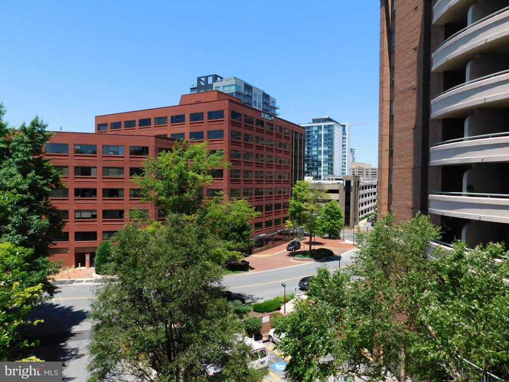 View from Balcony - 4808 MOORLAND LN #503, BETHESDA