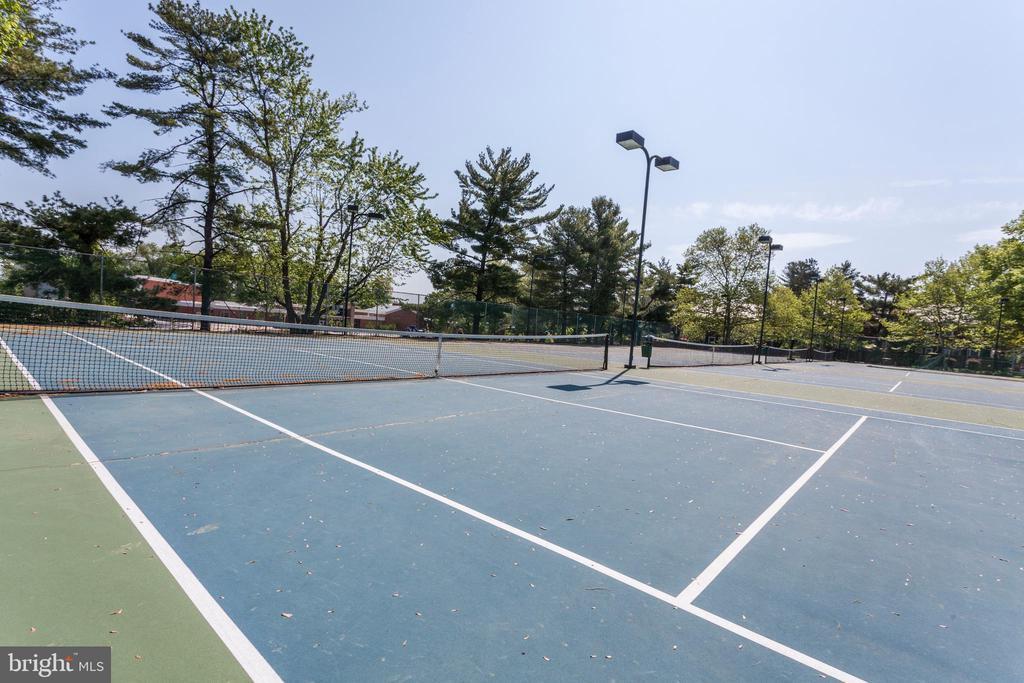 Lighted tennis courts - 3021 S BUCHANAN ST, ARLINGTON