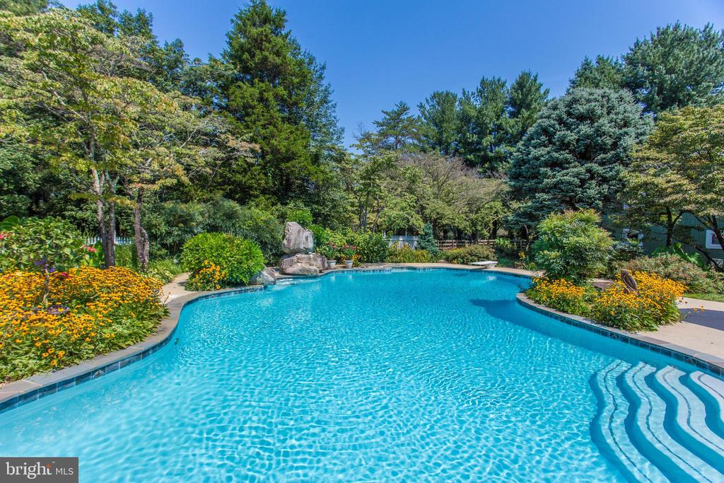 Take a Dip in the Pool on a Hot Summer Day - 10114 LAWYERS RD, VIENNA