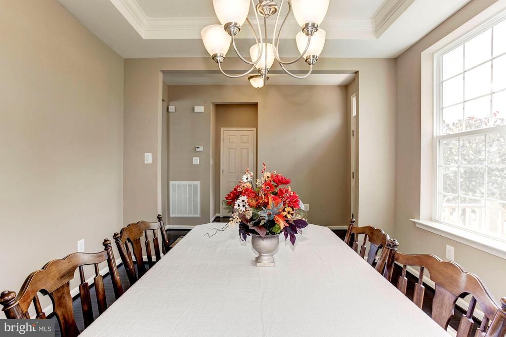 DINING ROOM - 8717 LIBEAU DR, MANASSAS