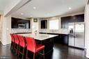 KITCHEN - TEAGAN SARSAPARILLA MAPLE CABINETRY! - 8717 LIBEAU DR, MANASSAS