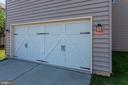 TWO CAR GARAGE - 8717 LIBEAU DR, MANASSAS