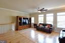 Family Room - Open,  HW Floors, Large Windows - 41 NIDAY DR, STAFFORD