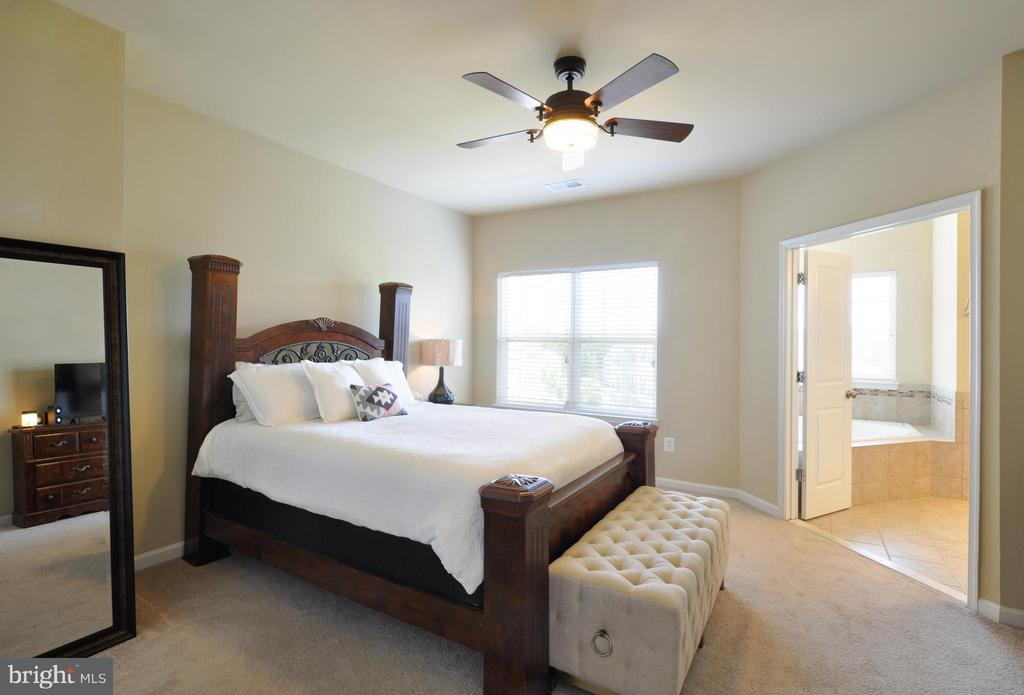 Master Bedroom Suite w/ 2 Walk In Closets - 41 NIDAY DR, STAFFORD
