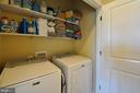 Laundry Area - On Same Level has Bedrooms, Storage - 41 NIDAY DR, STAFFORD