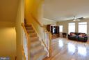 Hardwood Floors Throughout Main Level of Home - 41 NIDAY DR, STAFFORD
