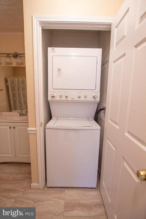 Washer/Dryer in Unit - 20958 TIMBER RIDGE TER #104, ASHBURN
