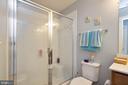 Upper level hall bathroom - 16651 DANRIDGE MANOR DR, WOODBRIDGE