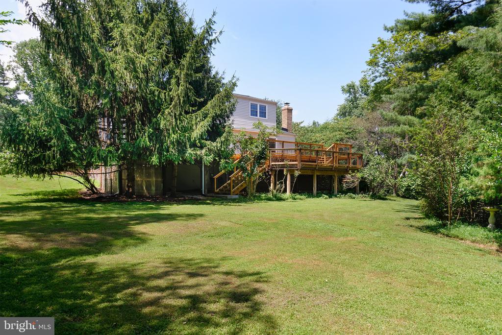Backyard - 909 CANTLE LN, GREAT FALLS