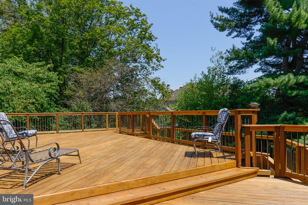 Enormous deck - 909 CANTLE LN, GREAT FALLS