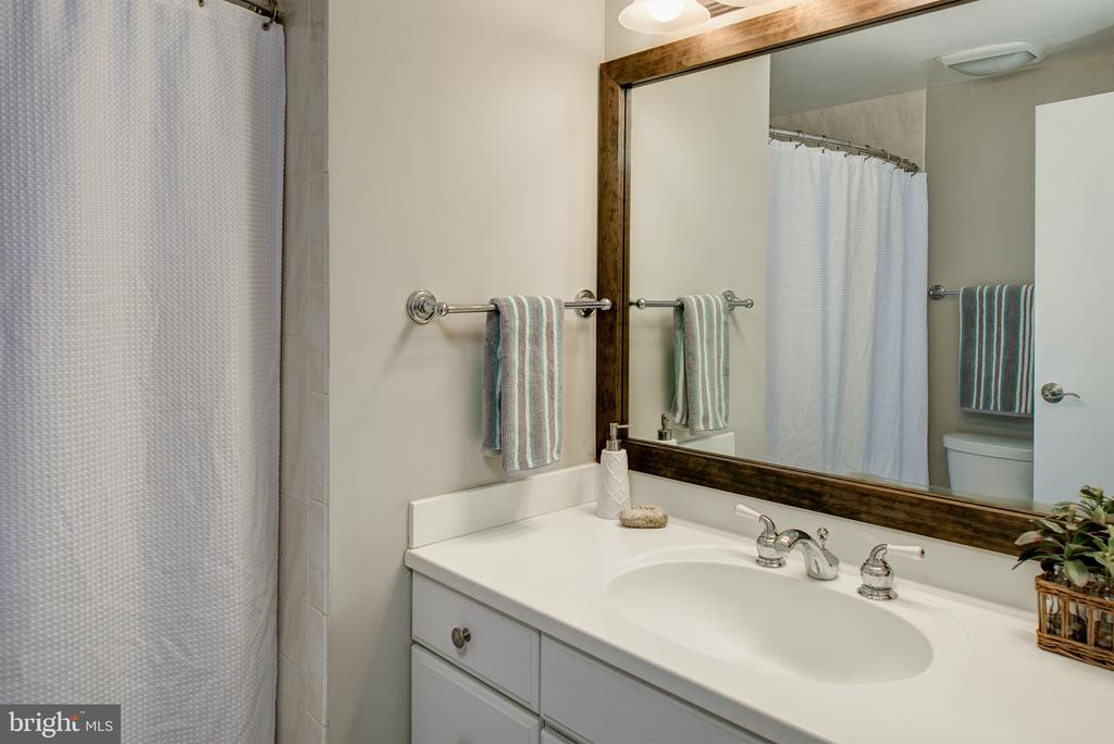 Hall bath - 909 CANTLE LN, GREAT FALLS