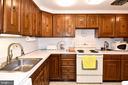 Kitchen - 611 4TH PL SW, WASHINGTON