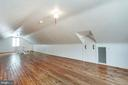 Upper Level Bonus area w/ ~Attic space for storage - 3211 19TH ST N, ARLINGTON