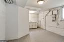 Lower Level~Bonus Room w/ Sink & Cabinet - 3211 19TH ST N, ARLINGTON