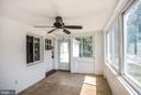 Sunroom for perfect for welcoming guest - 3211 19TH ST N, ARLINGTON