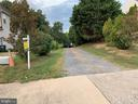 Entrance to gravel drive way - 17972 SWANS CREEK LN, DUMFRIES