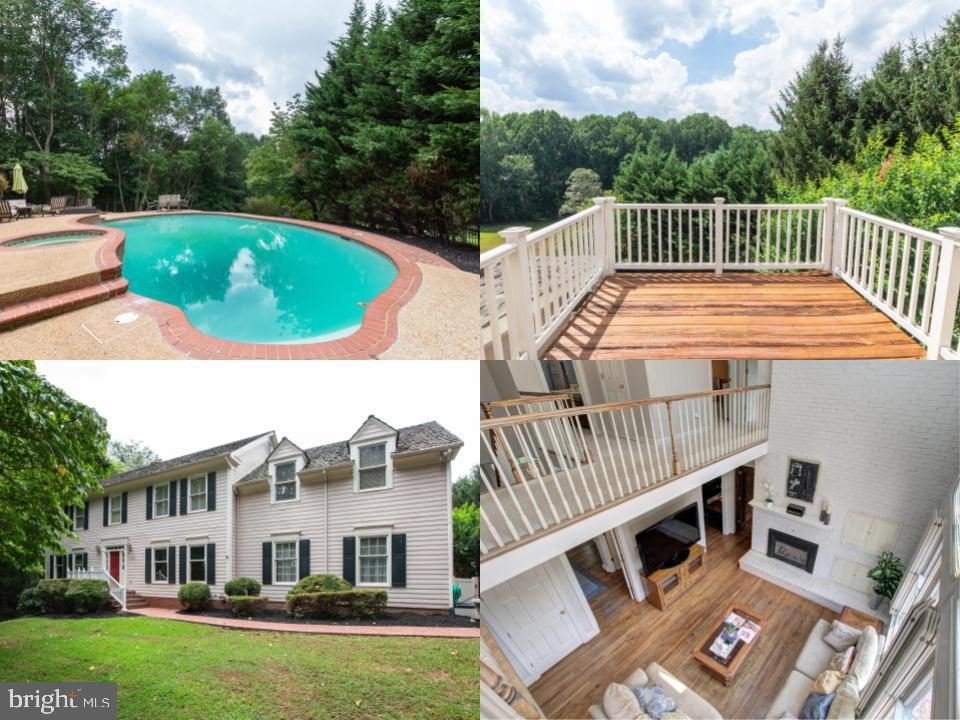 Located high up on a private road - 12208 FAIRFAX STATION RD, FAIRFAX STATION
