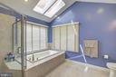 Master Bath beautifully remodeled - 12208 FAIRFAX STATION RD, FAIRFAX STATION