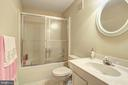 Full bath on the lower level - 12208 FAIRFAX STATION RD, FAIRFAX STATION