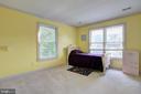 Bedroom 3 of 4 on upper level - 12208 FAIRFAX STATION RD, FAIRFAX STATION