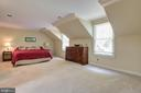 Master is spacious & private on upper level - 12208 FAIRFAX STATION RD, FAIRFAX STATION
