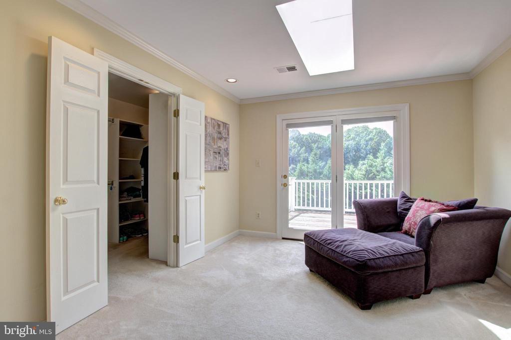 Master bedroom Sitting Room - 12208 FAIRFAX STATION RD, FAIRFAX STATION