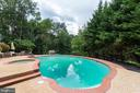 Pool is beautifully fenced in - 12208 FAIRFAX STATION RD, FAIRFAX STATION