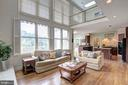 All the rooms are spacious & filled w/light - 12208 FAIRFAX STATION RD, FAIRFAX STATION