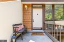 Front Door and patio - 2114 S QUINCY ST #2, ARLINGTON
