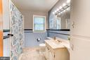 Full Bathroom with Ceramic Tile Wall Surround - 35 LEELAND RD, FREDERICKSBURG