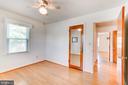 Bedroom Three with Hardwood Flooring - 35 LEELAND RD, FREDERICKSBURG