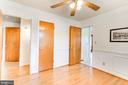 Bedroom 1 Two Doors-Kitchen & Hallway - 35 LEELAND RD, FREDERICKSBURG
