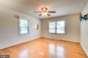 Bedroom Two with Hardwood Flooring - 35 LEELAND RD, FREDERICKSBURG