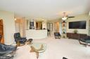 Living Room with View of the Kitchen - 19355 CYPRESS RIDGE TER #920, LEESBURG