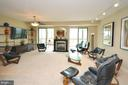 Spacious Open Living Room - 19355 CYPRESS RIDGE TER #920, LEESBURG