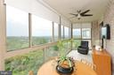 Custom Remote Control Blinds on the Balcony - 19355 CYPRESS RIDGE TER #920, LEESBURG