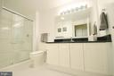 Upgraded Hall Bathroom with Ceramic Tile Floor - 19355 CYPRESS RIDGE TER #920, LEESBURG