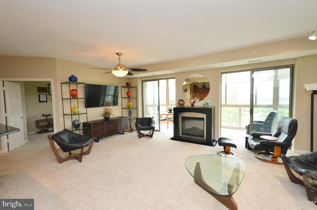 Living Room - 19355 CYPRESS RIDGE TER #920, LEESBURG